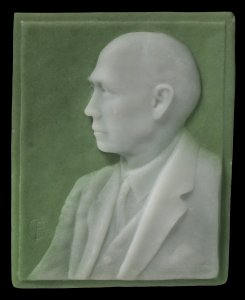 Panel with image of Dr. Eugene Sullivan
