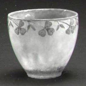 Small Bowl with Shamrocks