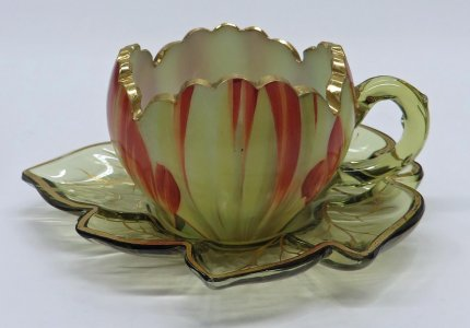 Punch Cup and Saucer