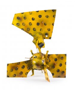 Jigaboo: dancing in yellow and red with black spots [picture].