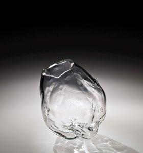 """Glacier"" Vase Form Prototype with Medium Mouth"