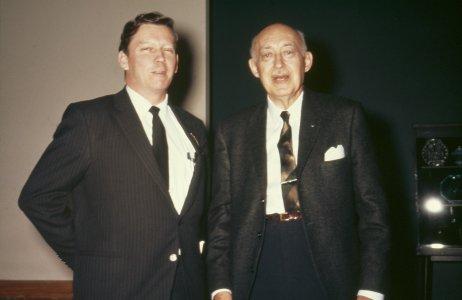 CMG Seminar 1968 [slide]: Jerome Strauss, Ken Wilson.