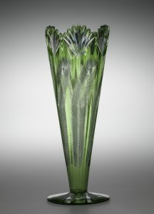 "Vase in ""Fern"" Pattern"