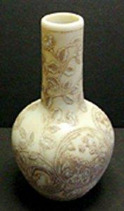 Ivory Cameo Vase