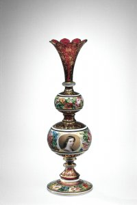 Vase with Portrait of a Lady