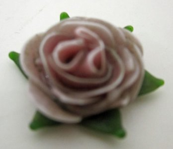 Flat Model of Flower for Jewelry
