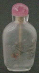 Snuff Bottle with Stopper-Cap