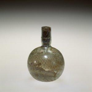 Bottle with Greek Inscription