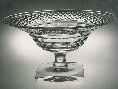 "Bowl in ""Marquis of Waterford"" Pattern"