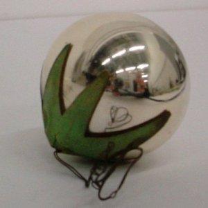 Silvered ball