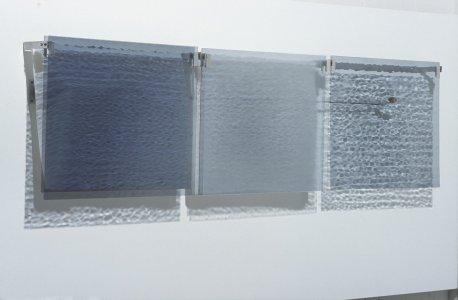 Silver gray nocturne triptych 2005 [slide].