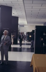 CMG Seminar 1969 [slide]: [Paul Perrot in the galleries] / slide by K. Gunsalus.