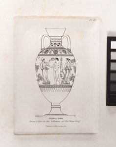 A collection of antique vases, altars, pateræ, tripods, candelabra, sarcophagi, &c. from various museums and collections, engraved on 170 plates / by Henry Moses. With historical essays.