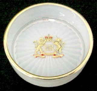 Dish with Royal Crown
