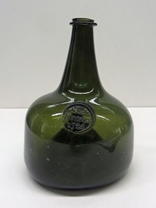 Wine Bottle with Seal