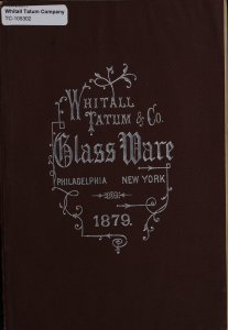 Glass ware.