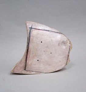 Plaster Cutter's Model for Unknown Sculpture