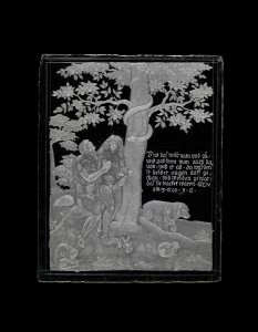 Engraved panel