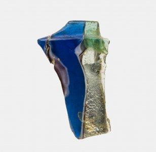 dd63bafb388 Fragment of Gold Band Glass Vessel