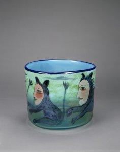 Blue Animal Bowl