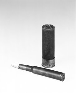 12-Gauge Shotgun Shell with Glass Shot