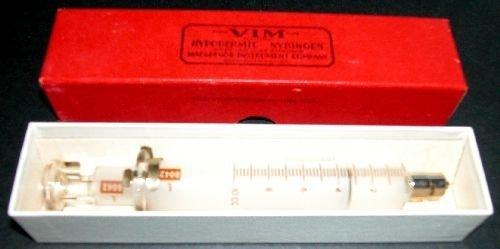 VIM Hypodermic Syringe in Box