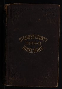 Gazetteer and business directory of Steuben County, N.Y., for 1868-9 / compiled and published by Hamilton Child.