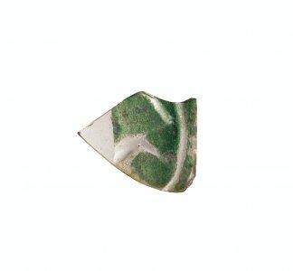 Fragment with Half-Palmette (?)