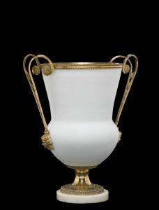 Flussglas Vase