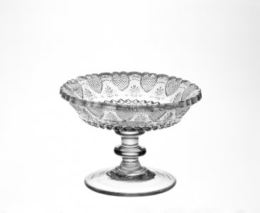 Heart-Strawberry-diamond Compote or Bowl