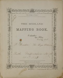 The Midland mapping book / F. Carder, the Leys Potteries.