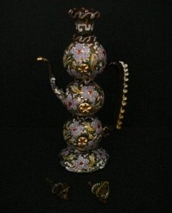 Ewer with 2 Spare Stoppers
