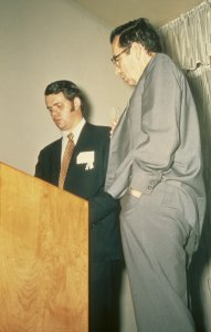 CMG Seminar 1970 [slide]: Dwight Lanmon, Georges Hares.