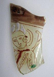 Fragment of Beaker with Figure