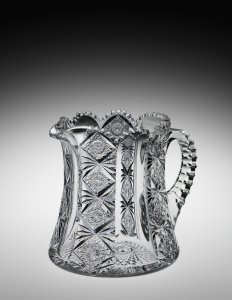 "Pitcher cut in ""Teutonic"" Pattern"