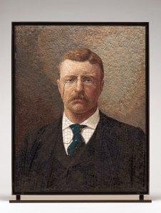 Mosaic Portrait of Theodore Roosevelt