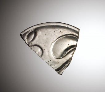 Fragment of Shallow Bowl or Cover