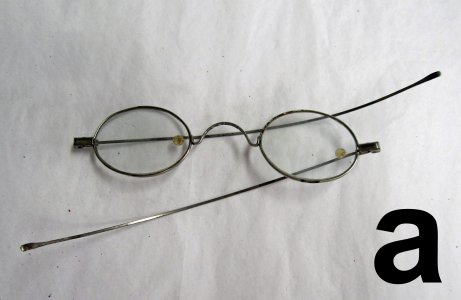 Eyeglasses in case