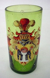 Armorial Beaker Enameled with Child in Royal Robe