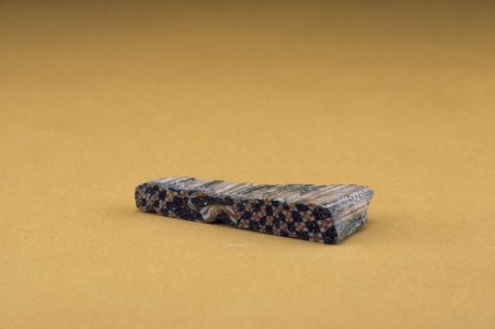Fragment of Bar in Checkerboard Pattern