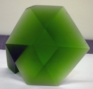 Spatia Virides I (Illusive Cube with Prism)
