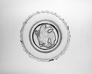 Sauce Dish with Eagle