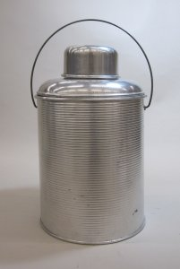 Pyrex Thermos with Lid and Cap