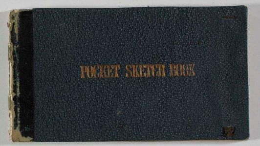 Pocket sketch book [1883] / F. Carder.
