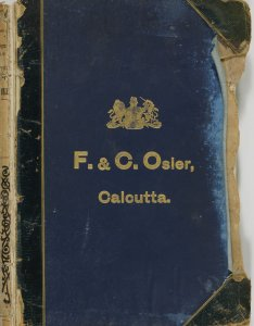 F. & C. Osler, Calcutta.