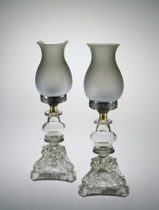 Pair of Oil Lamps