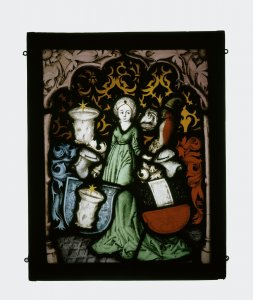 Panel with the Arms of Escher vom Glas