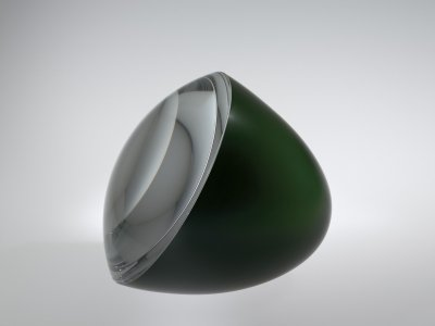 Half-Green Egg with Optical Lens