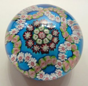 Paperweight with Roses