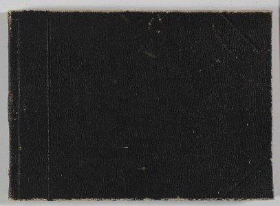[Black sketchbook] 1889 / F. Carder.